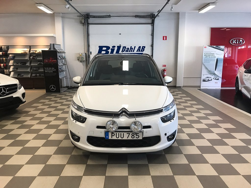 Citroën C4 Grand Picasso C4 Picasso 1.6 HDi EGS 7-sits 114hk