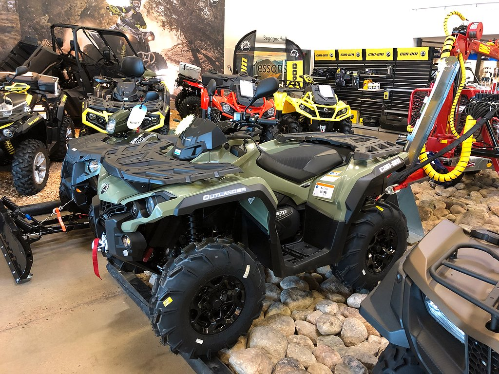Can-Am Outlander PRO+ T 570 # Kampanj #