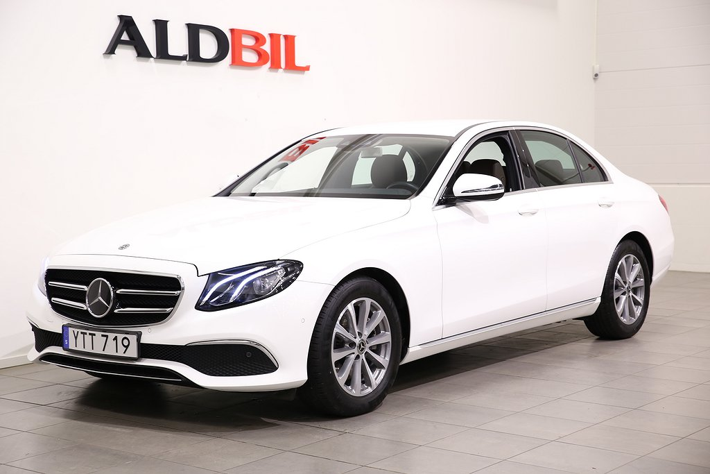 Mercedes-Benz E 220 d 194hk 4M Se Edition / Nav / Distronic