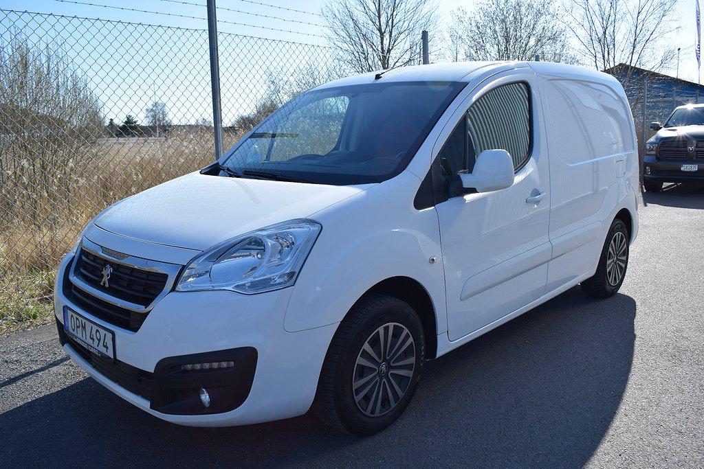 Peugeot Partner Pro+ Skåpbil 1.6 BlueHDi EU6 75hk L1