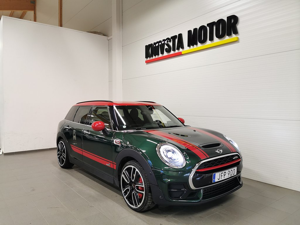 Mini John Cooper Works ALL4 Clubman AUT Chili GPS H/K 231hk 2017