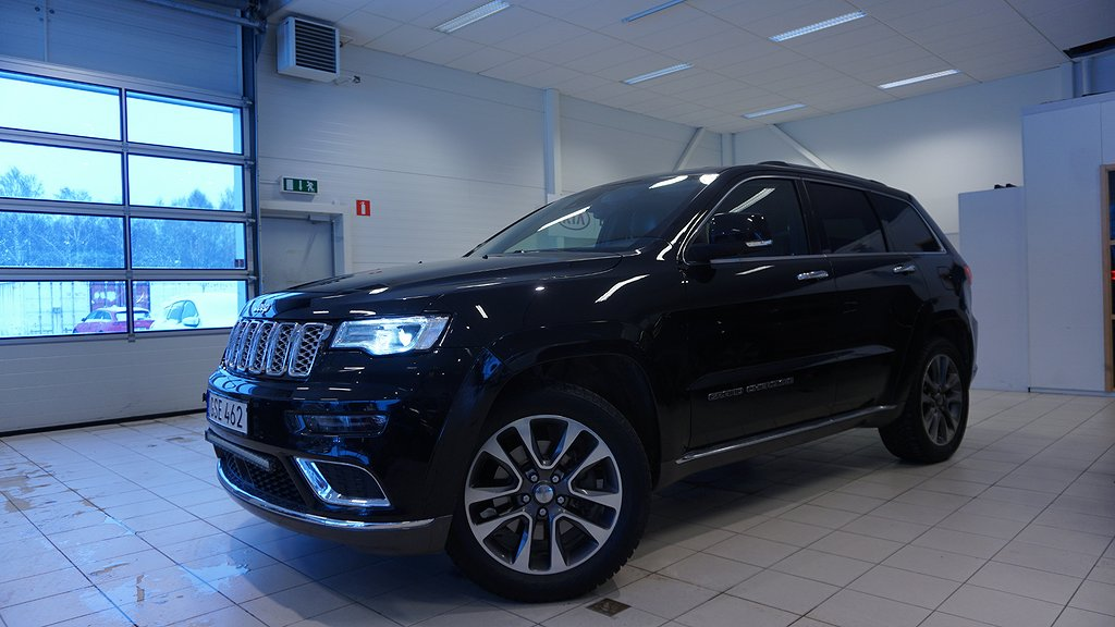 Jeep Grand Cherokee 3.0 V6 CRD 4WD Automat  250hk SUMMIT