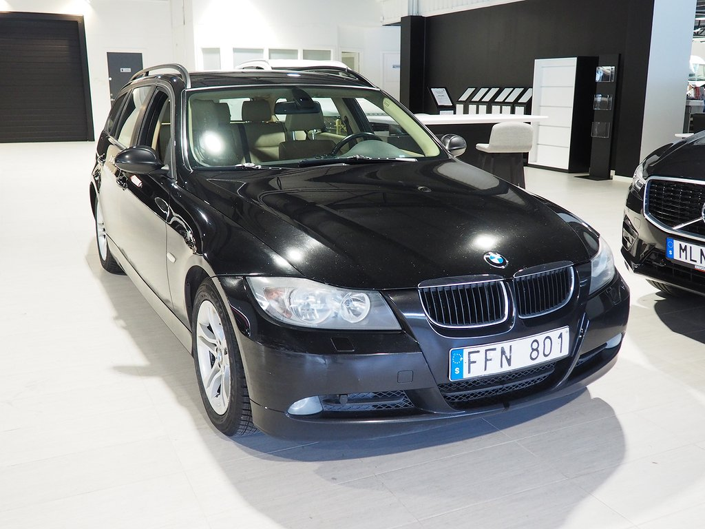 BMW 320 d Touring Advantage Helskinn Dragkrok 2007