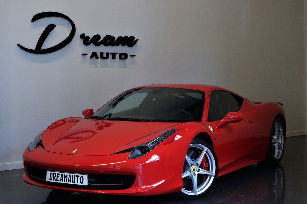 Ferrari 458 ITALIA F1 FRÅN 7500KR INK FÖRSÄKRING