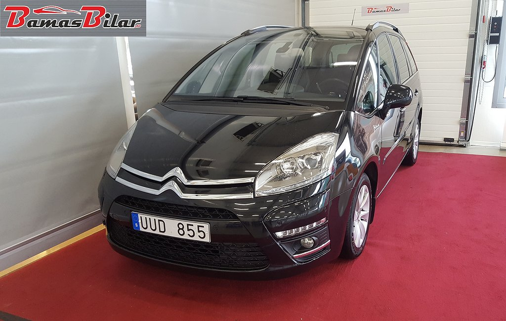 Citroën C4 Grand Picasso 1.6 e-HDi Airdream EGS 7-sits 111hk