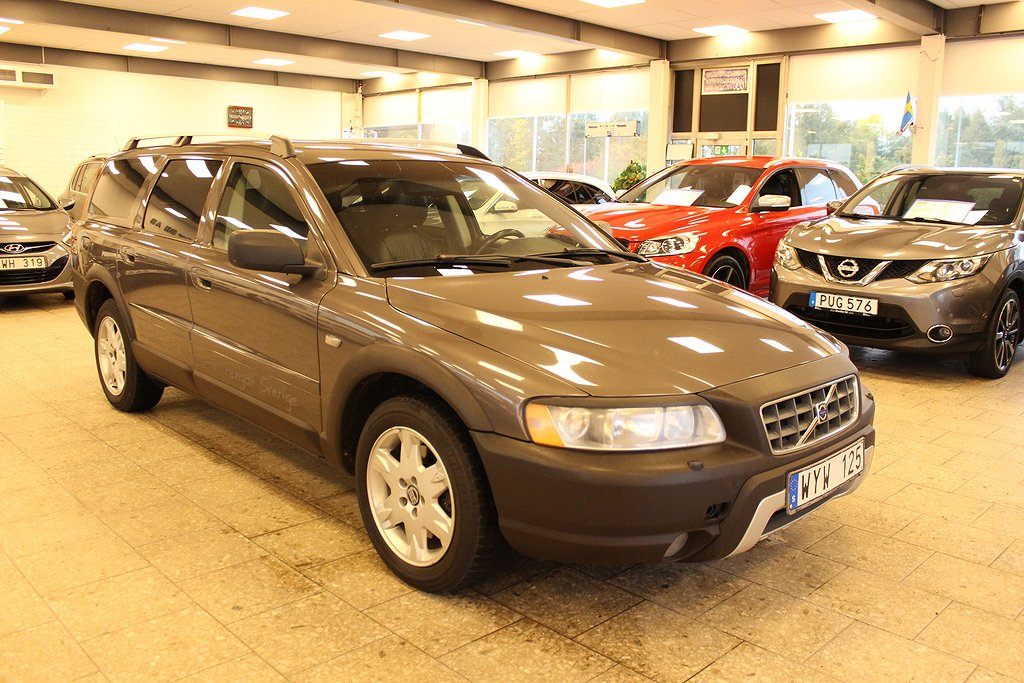 Volvo XC70 2.5T AWD Geartronic Kinetic 210hk Nyservad