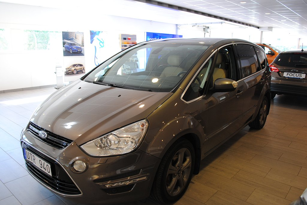Ford S-Max 2.0 TDCi 163hk Aut Business*Panorama*