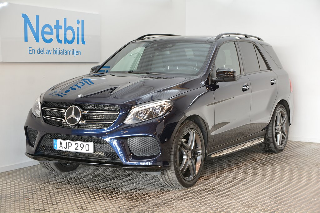 Mercedes-Benz GLE 350d 4MATIC AMG 258hk Välutrustad