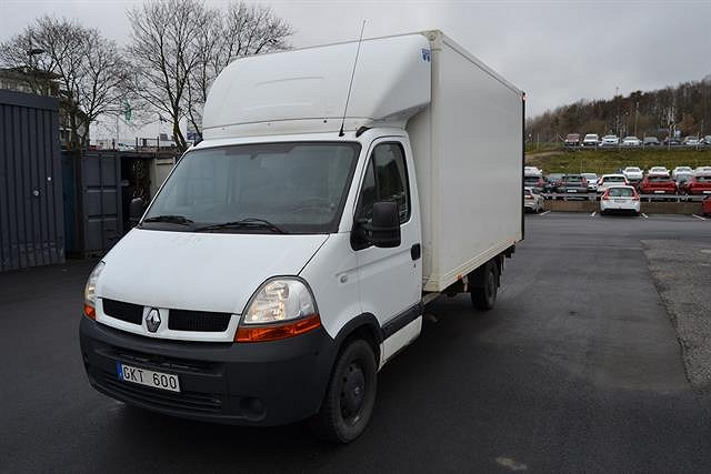 Renault Master 2.5 dCi Chassi L3H1 Bakgavel. Nybes