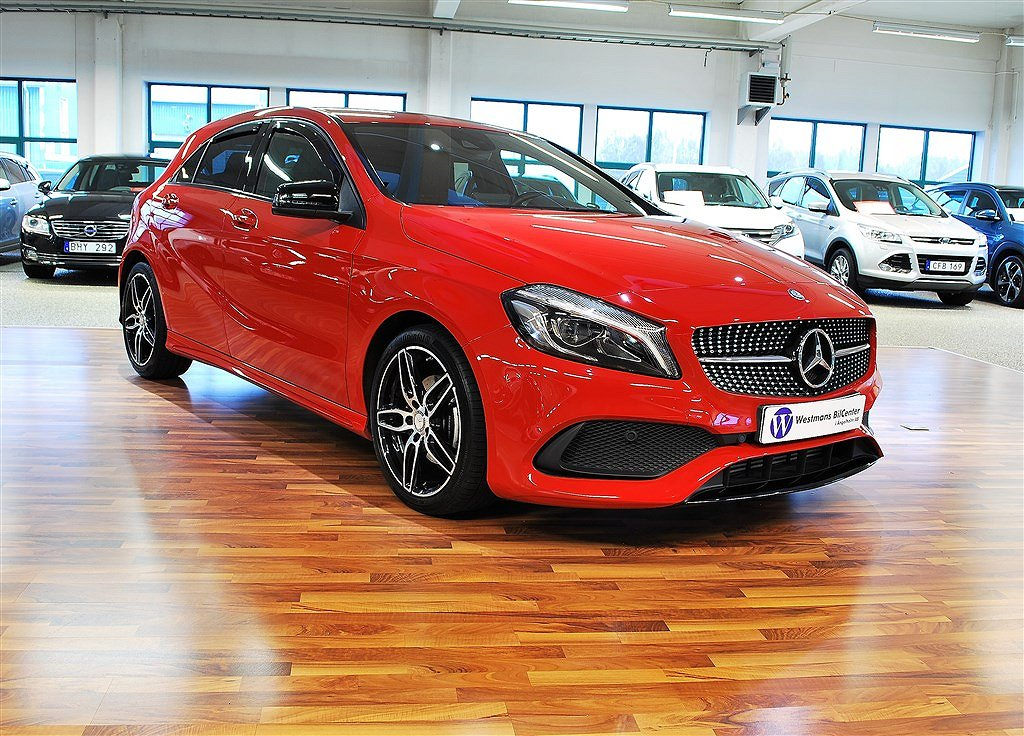 Mercedes-Benz A 180D 109HK AMG Night Paket