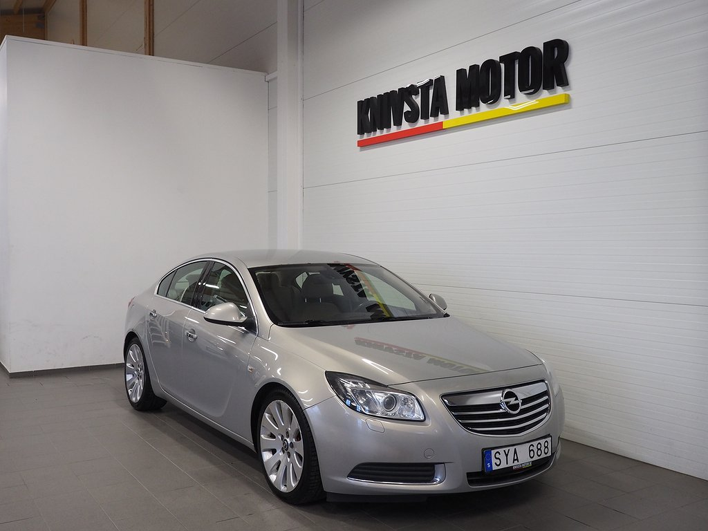Opel Insignia Sedan 2.8 V6 Turbo 4x4 260hk 2009