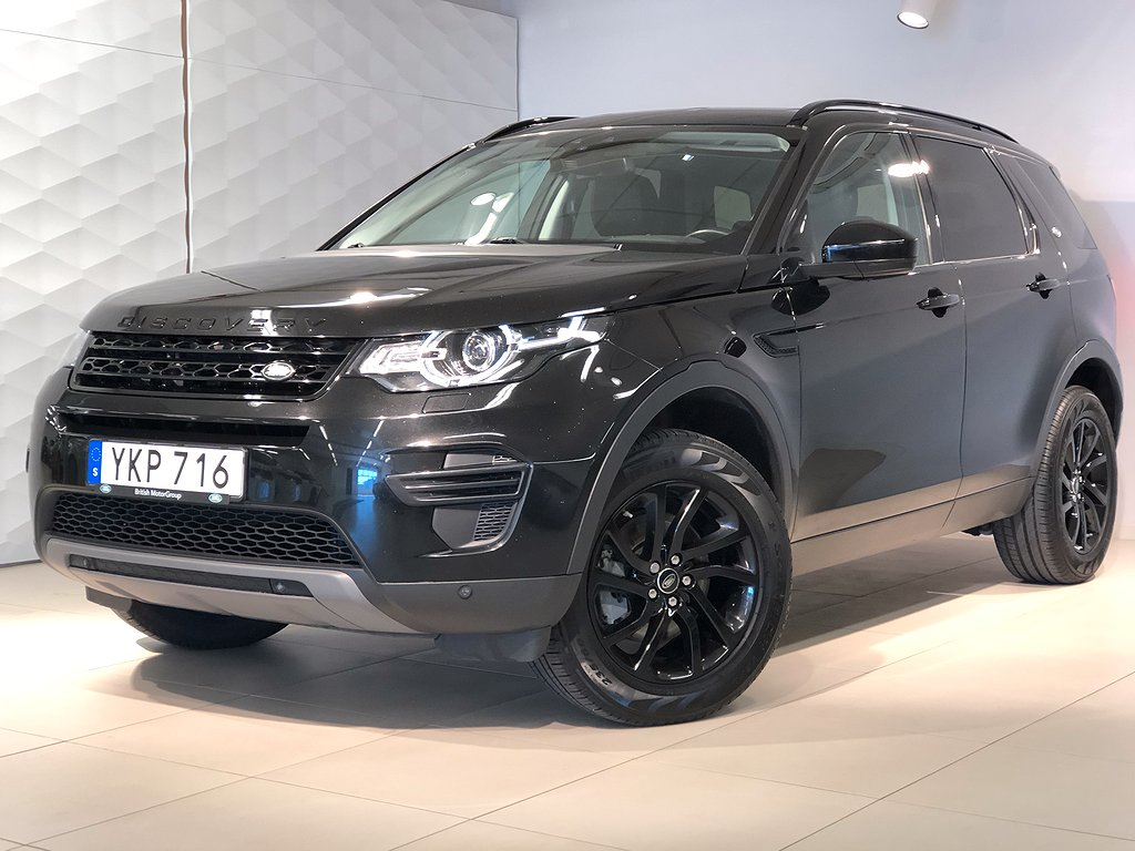 Land Rover Discovery Sport TD4 180 hk 7-sits dragkrok