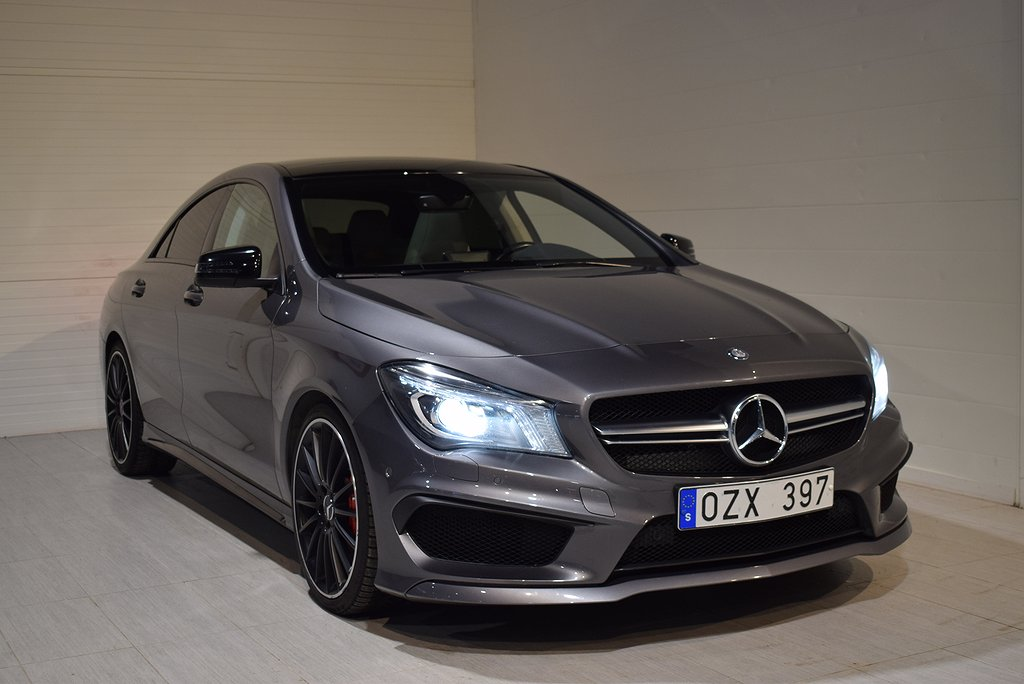 Mercedes-Benz CLA 45 AMG 4MATIC AMG Panorama 360hk 2014