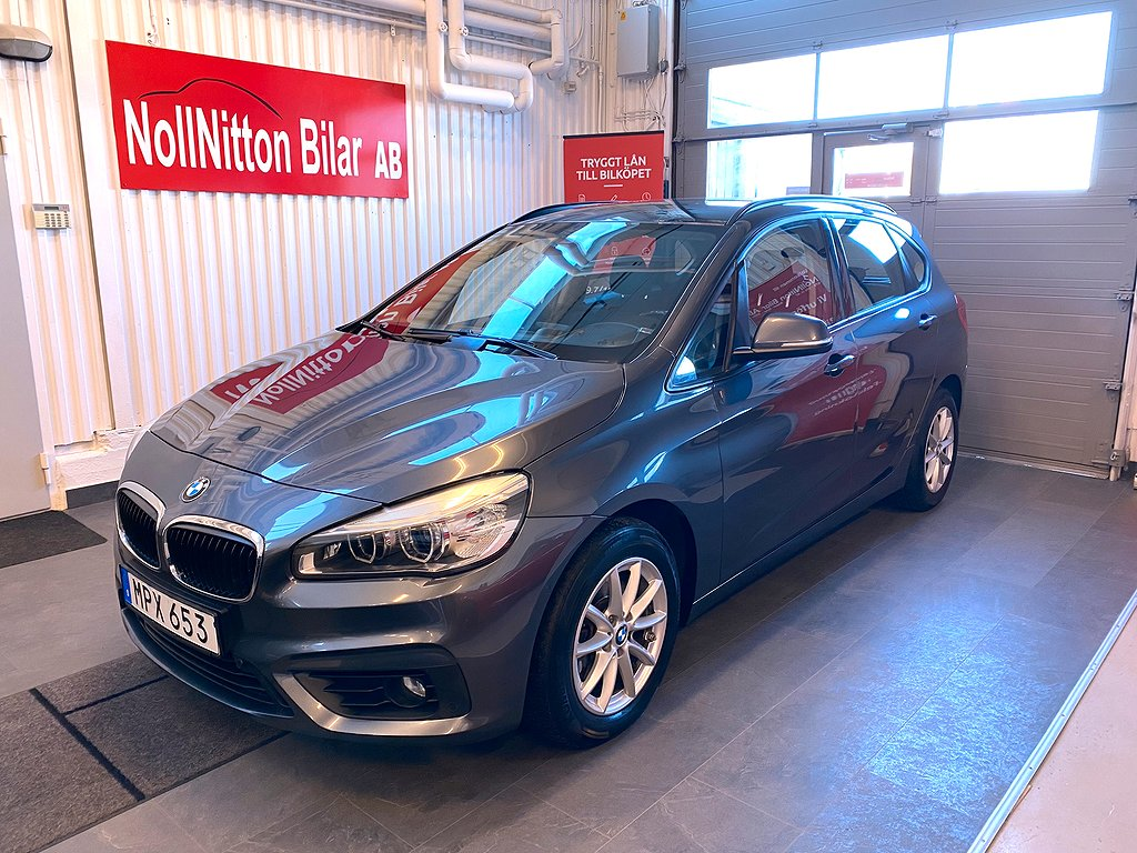BMW 216 d Active Tourer Advantage Euro 6 116hk