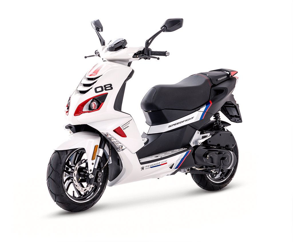Peugeot Speedfight R-CUP Icy White 4-takt
