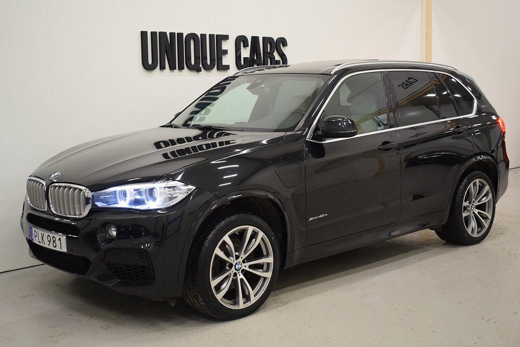 BMW X5 xDrive40e 313hk M Sport Lounge Pack Panorama H/K Moms