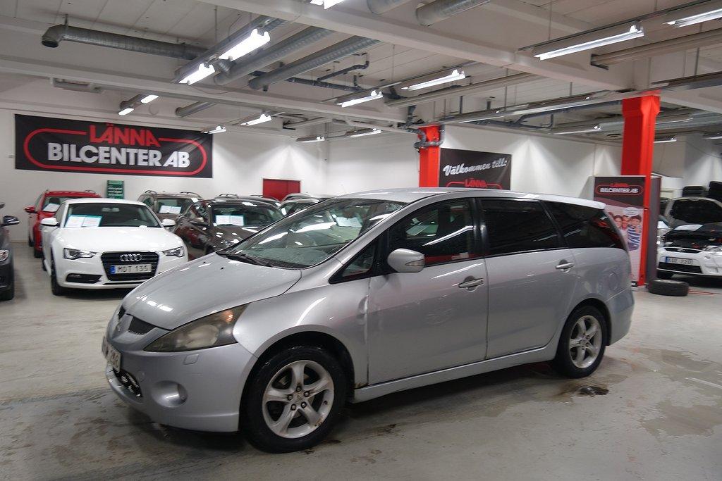 Mitsubishi Grandis 2.4 7-sits Drag Lev Nybesiktad