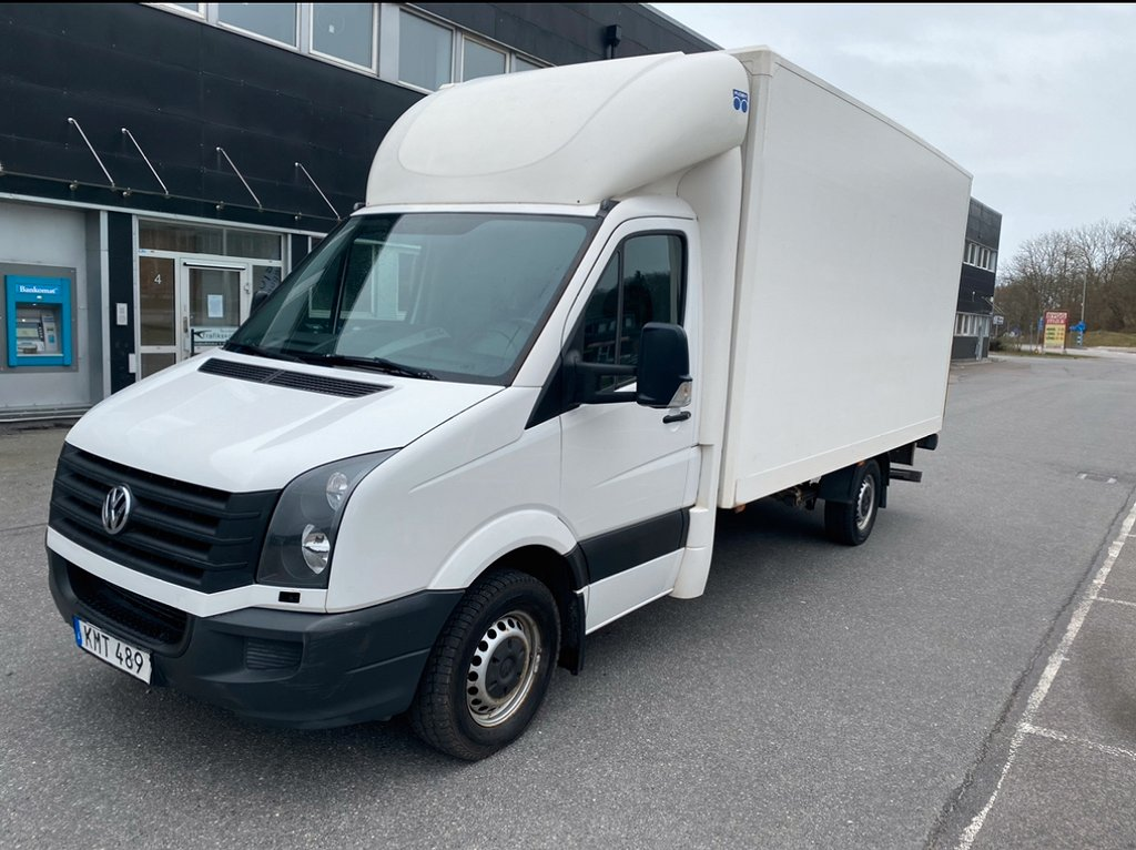 Volkswagen Crafter Chassi 2.0 TDI 163hk