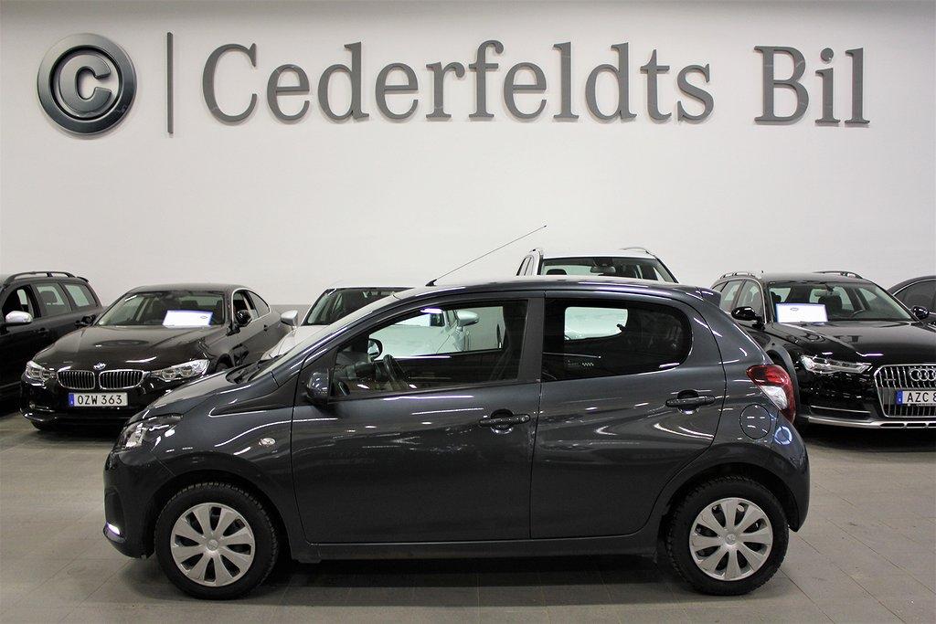 Peugeot 108 1.0 VTi Fullservad Välvårdad 69hk