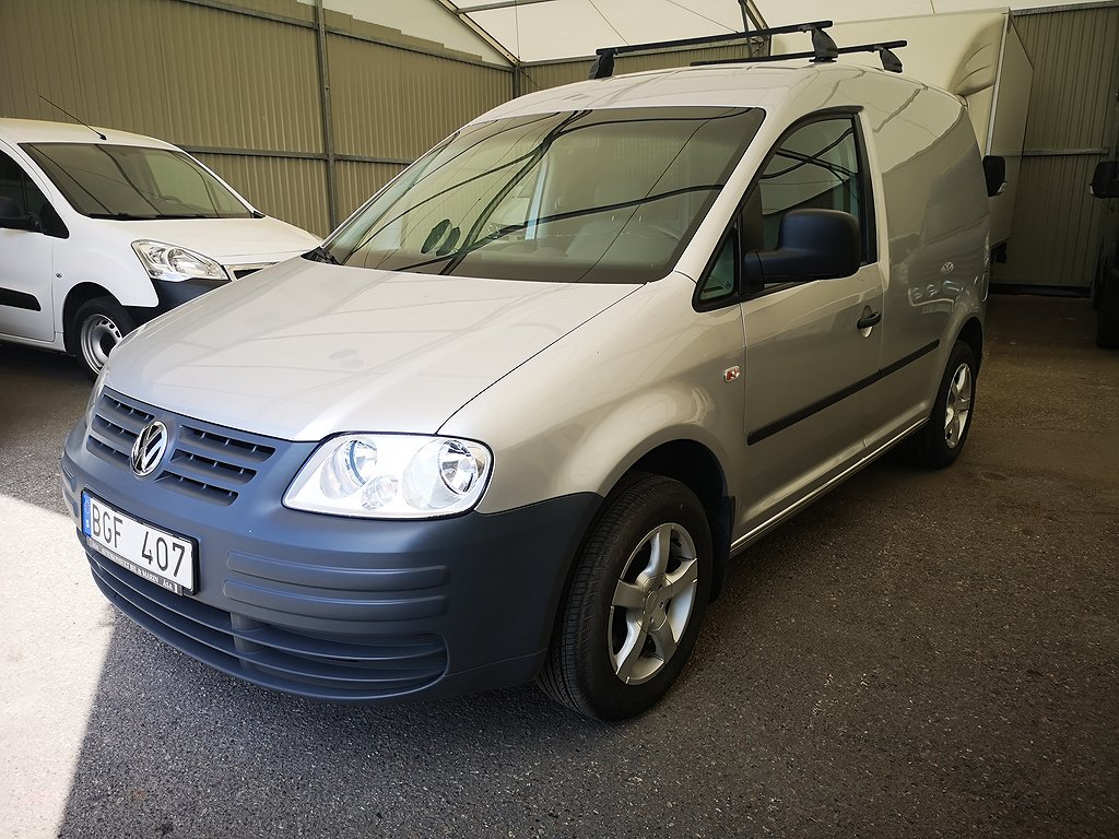 Volkswagen Caddy 1.9 TDI 75HK Drag