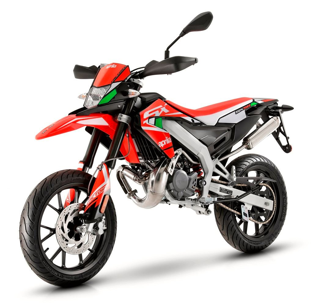 Aprilia SX 50 FACTORY RED BOOST