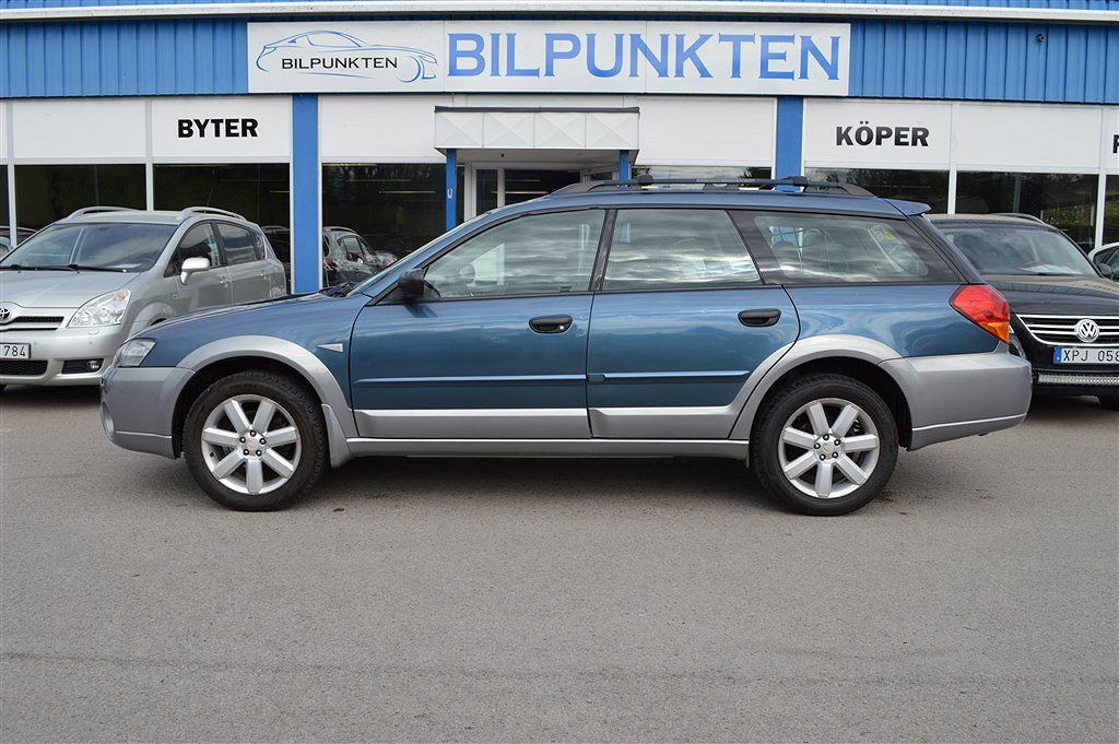 Subaru Outback 2,5 / AUT / 4WD / 167 HK /  NYBES