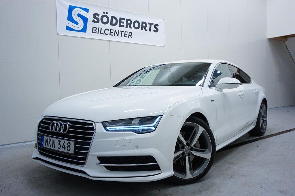 Audi A7 S-line Sportback 3.0 TDI V6 Quattro Euro 6