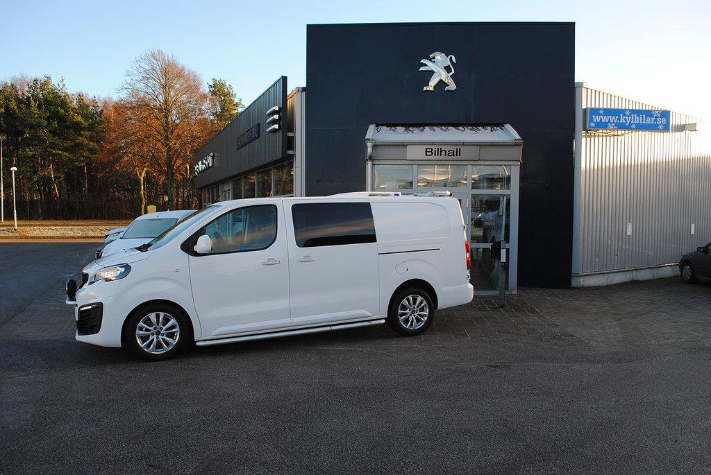 Peugeot Expert Pro+ Crew Cab L3 180hk Kylbil