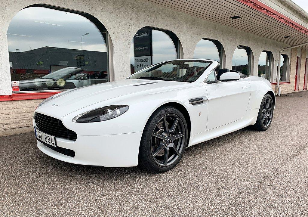 Aston Martin Vantage Roadster 4.3 V8 Cab Aut Sportshift II NAVI 19 tum Alu