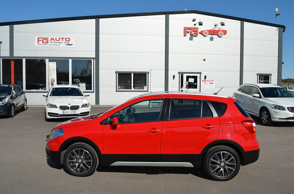 Suzuki SX4 S-Cross 1.6 AllGrip 120hk / TOPPUTRUSTAD /