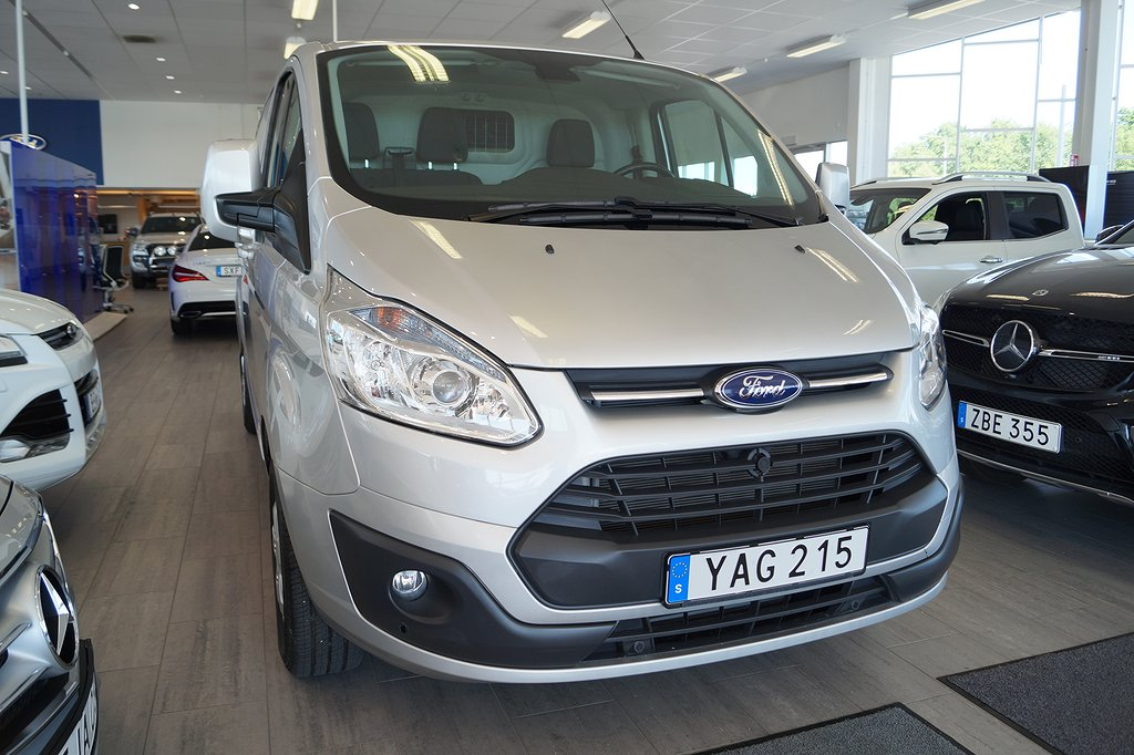 Ford Custom 300 L2 2.2 TDCi 125hk Limited Skåp leasebar