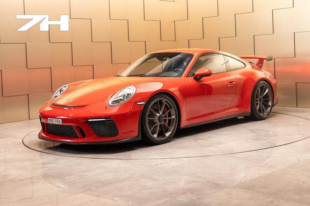 Porsche 911 991 GT3 PDK / 500 hk / Sport Chrono / Svensksåld