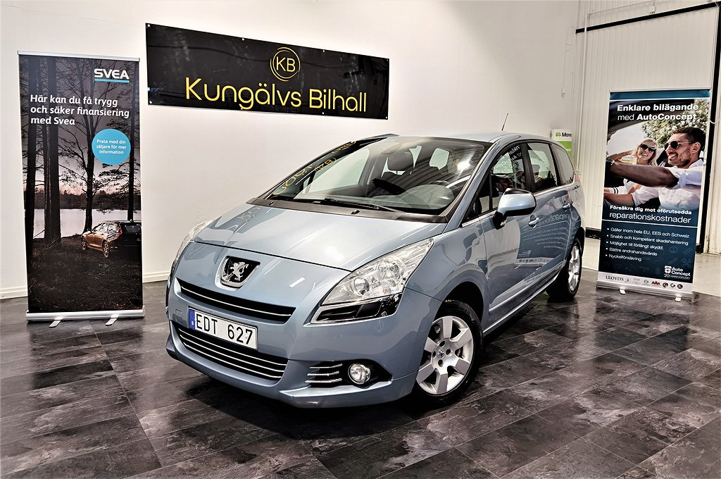 Peugeot 5008 1.6HDi/FAP EGS/7-sits/Auto/Nyser/Nybes