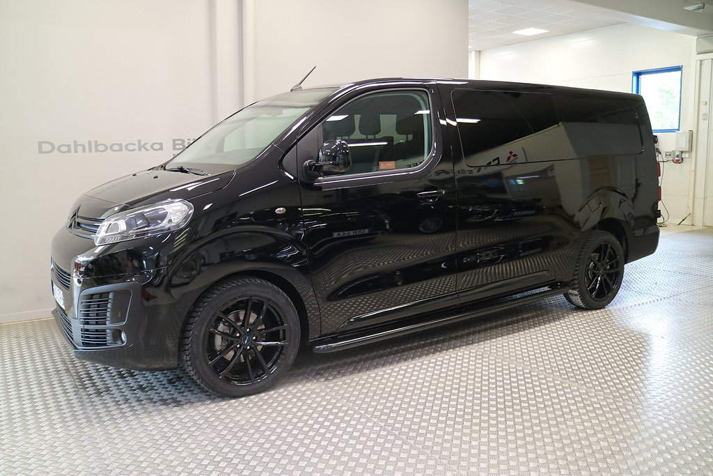 Citroën Jumpy Dubbelhytt ALL BLACK 180hk AUT