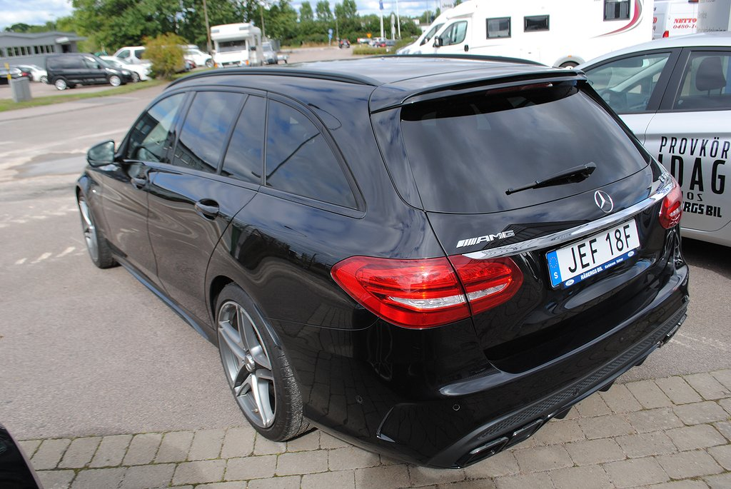Mercedes-Benz AMG C 63 S T AMG Speedshift 510hk