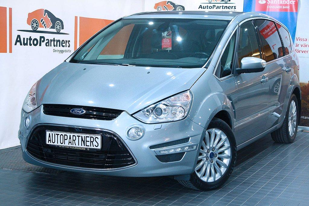 Ford S-Max 2.0TDCi 7-sits PANORAMA WEBASTO