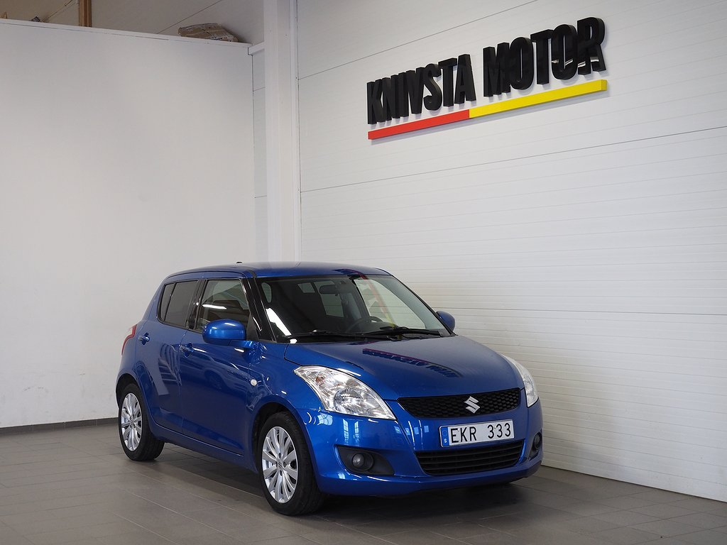 Suzuki Swift 5-dörrar 1.2 Exclusive GLX Bluetooth Keyless 94hk 2012
