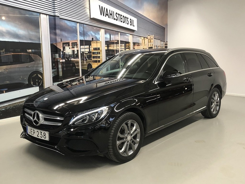 Mercedes-Benz C  220 T d 4MATIC 7G-Tronic Plus Euro 6 170hk