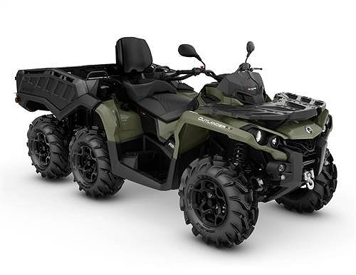 Can-Am Outlander Max 650 6*6 PRO T
