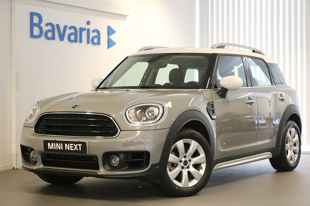 Mini Countryman Cooper ALL4 Experience Drag Nav
