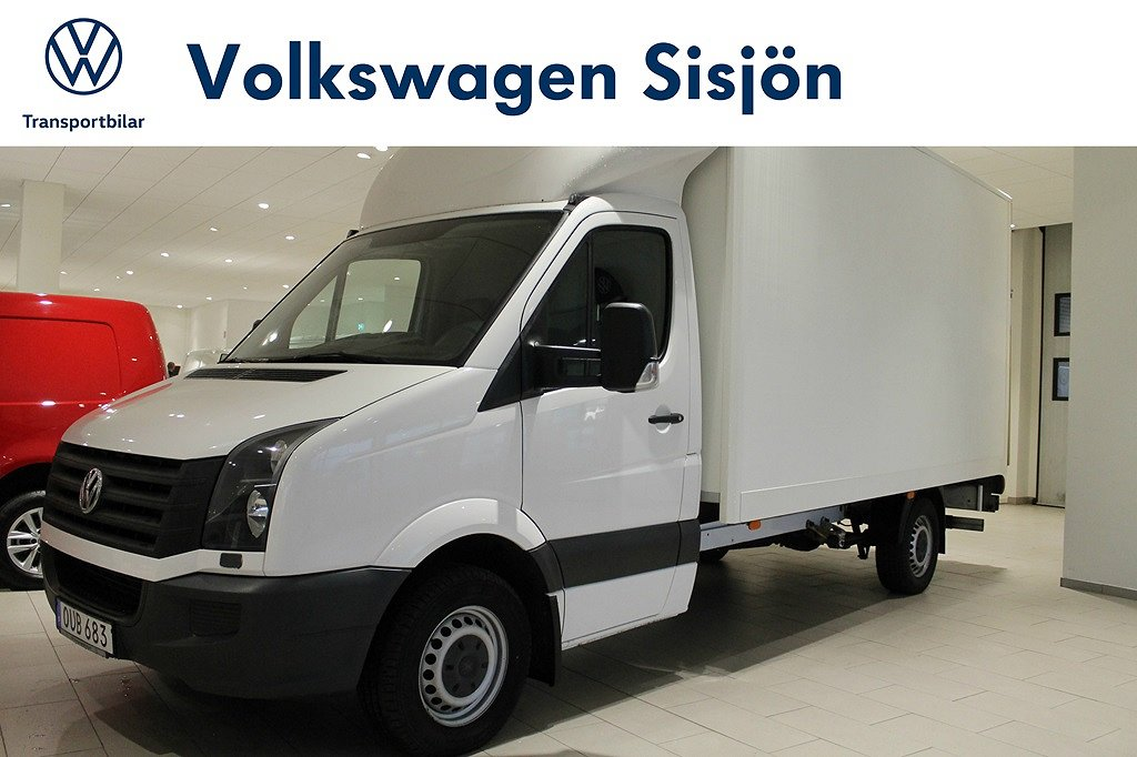 Volkswagen Crafter Chassi EH 35 163hk TDI 432