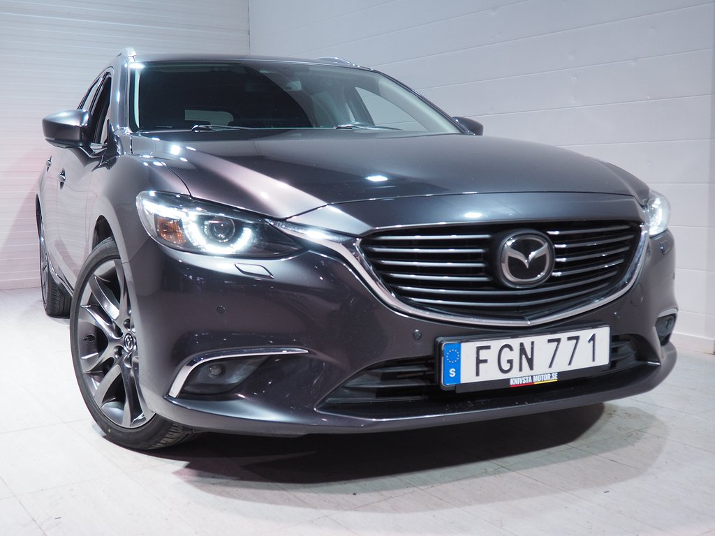 Mazda 6 Wagon 2.2 Optimum AWD Automat 175hk 2017
