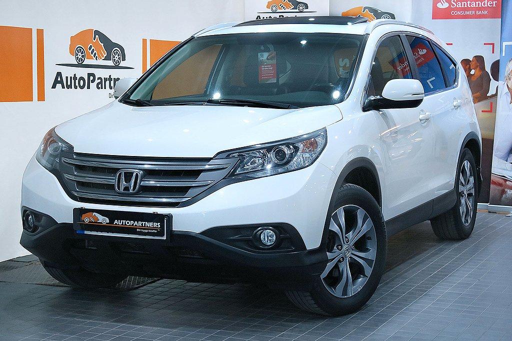 Honda CR-V 2.4 i-VTEC AWD AUT (190hk) TAKLUCKA LÄDER PÄRLVIT