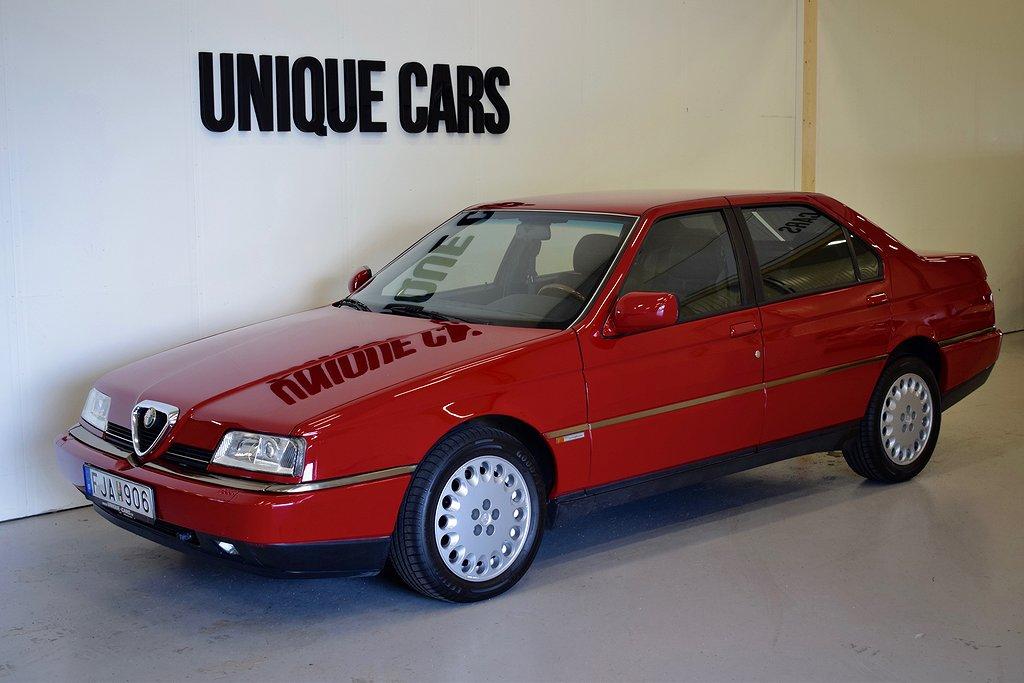 Alfa Romeo 164 3.0 V6 Super 211hk Svensksåld