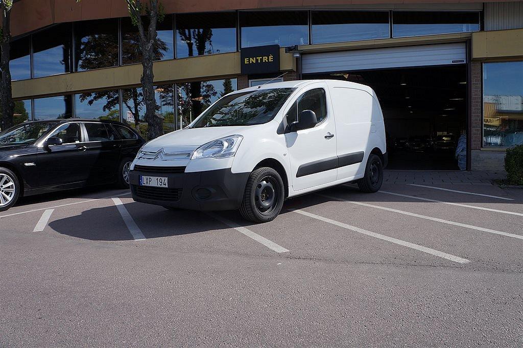 Citroën Berlingo III 1,6 HDI Skåp 71600:- ex moms, 3 Sits, Verkstadsinredning