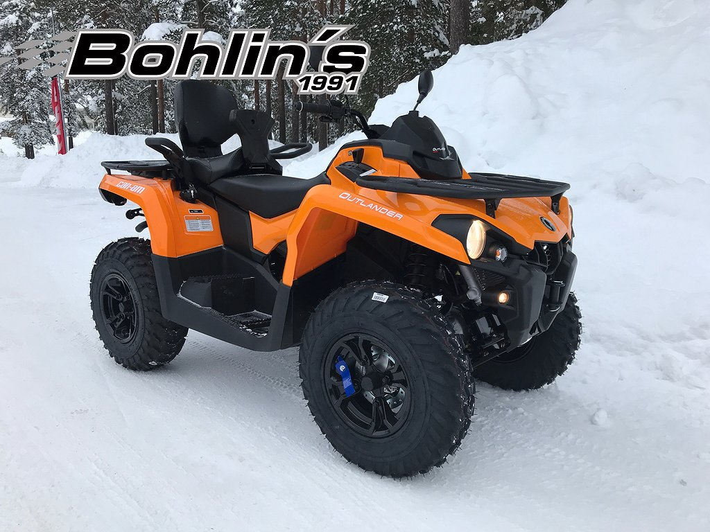 Can-Am Outlander MAX 450 T3 -18 *Kampanj*