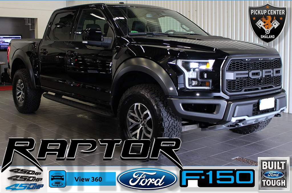 Ford F-150 Raptor 3,5 Ecoboost (5992:-/mån ink moms)