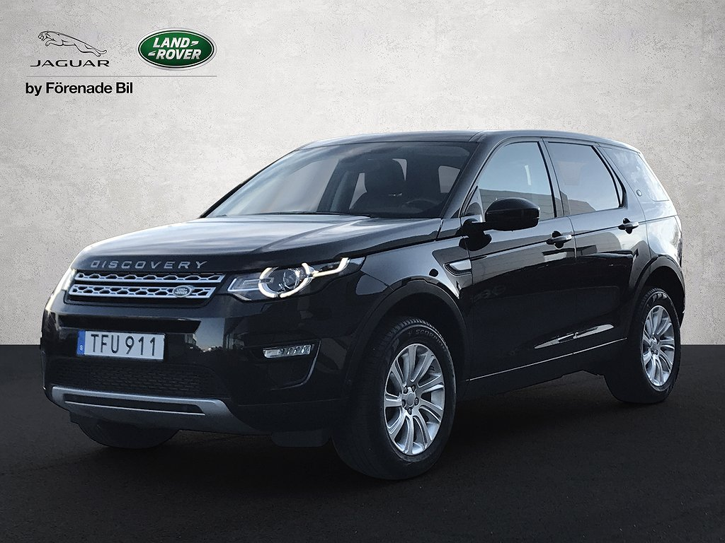 Land Rover Discovery Sport 2.2 SD4 4WD Automat HSE 7-sits 190hk
