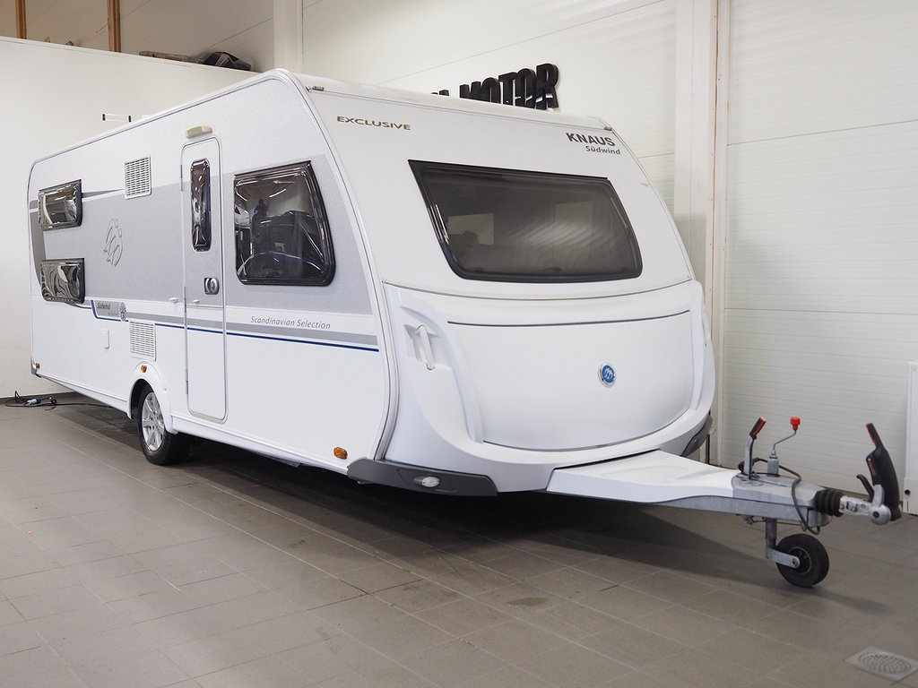 Knaus 590 UK Südwind Scandi Selection Förtält 2015