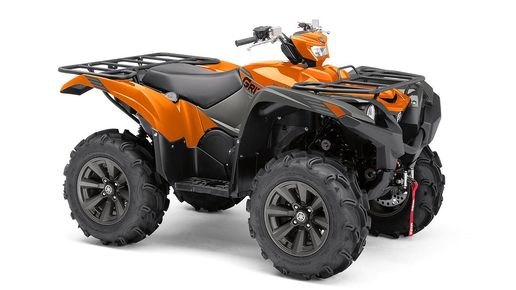 Yamaha Grizzly 700 EPS Limited Boka nu